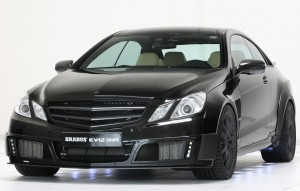 Mercedes-Benz E-Coupe modificat de Brabus