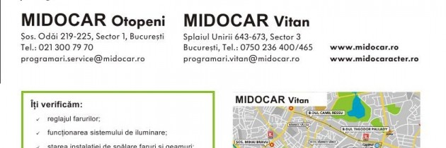 Verficare gratuita de la Midocar