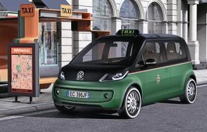 Taxiul viitorului se numeste Volkswagen Milano