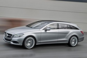 Mercedes CLS Concept a fost dezvaluit