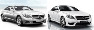 Facelift Mercedes CL: Calea spre perfectiune