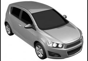 Primele imagini cu noul Chevrolet Aveo de serie