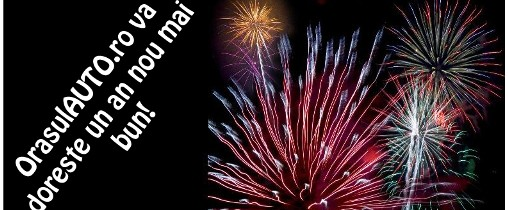 OrasulAUTO.ro va doreste un an nou plin de bucurii!