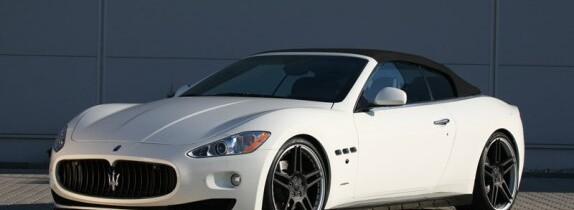 Maserati GranCabrio modificat de Novitec Tridente