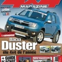 Dacia Duster a fost desemnata masina 4×4 a anului in Franta