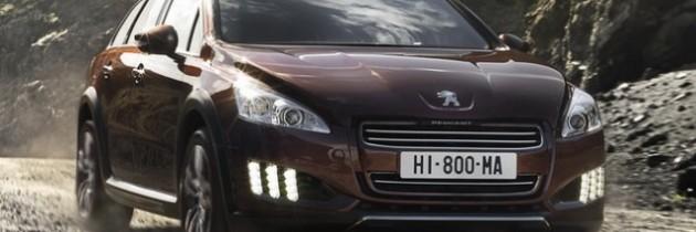 Peugeot 508 RXH – un hibrid 4×4 cu accente premium