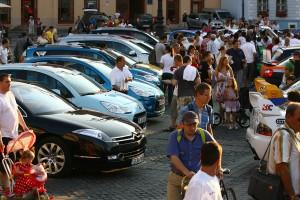 Astazi incepe spectacolul numit Raliul Sibiului