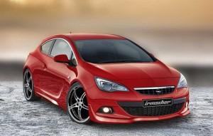 Opel Astra GTC tunat de Irmscher