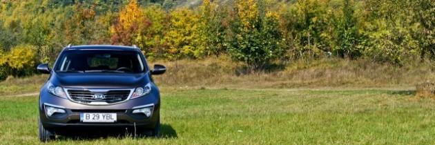 TEST DRIVE: Kia Sportage, 2.0 GSL 163CP