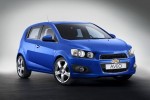 Chevrolet Aveo va primi un motor turbo pe benzina