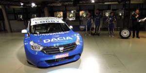 VIDEO: Dacia prezinta versiunea de competitie a modelului Lodgy