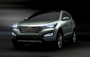 Primele imagini ale noului Hyundai Santa Fe