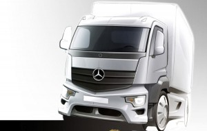 Mercedes extinde gama de camioane cu noul Antos