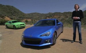 VIDEO: Comparatie intre Subaru BRZ si Ford Mustang