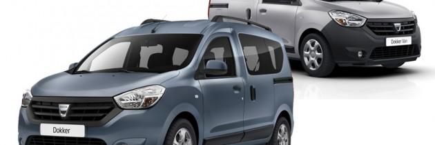Dacia Dokker si Dokker Van, lansate in Romania