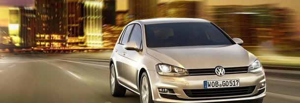 Volkswagen Golf VII: primele imagini si informatii oficiale