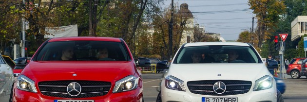 Noul Mercedes-Benz Clasa A, prezentat la Iasi