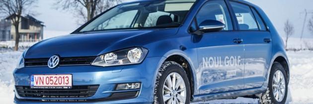 Noul Volkswagen Golf VII, lansat la Suceava