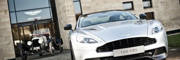 VIDEO: 100 de ani de Aston Martin in doua minute