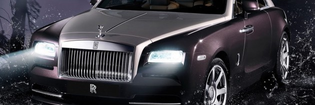 VIDEO: Rolls-Royce Wraith