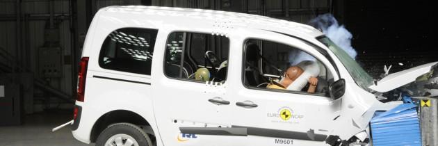 Mercedes Citan, doar trei stele EuroNCAP
