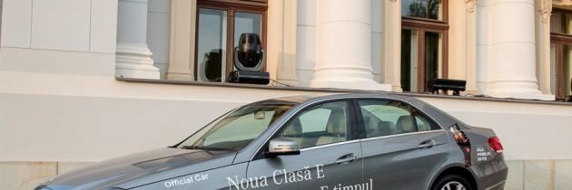 Noul Mercedes Clasa E, prezentat in deschiderea Galei Premiilor UNITER