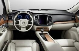 Primele imagini cu interiorul noului Volvo XC90