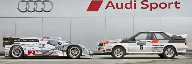 Bun venit in Le Mans 24H! De la Audi, pentru Porsche.