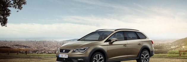 Primele imagini cu noul SEAT Leon X-Perience