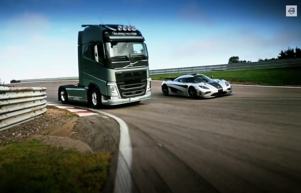 Volvo FH vs. Koenigsegg