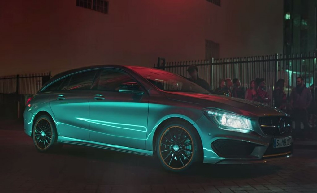CLA Shooting Brake Nico Rosberg