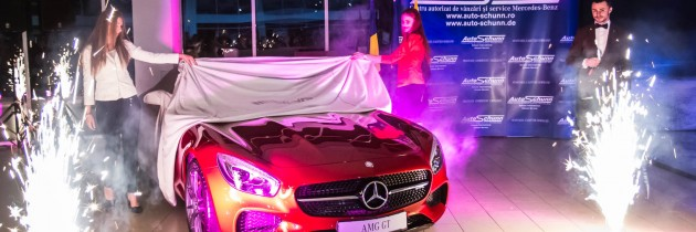 Mercedes AMG GT si noul B-Klasse, lansate la Auto Schunn Suceava
