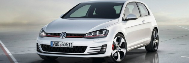 Primele imagini ale noului VW Golf VII GTI
