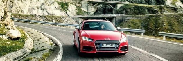 GALERIE FOTO: Noul Audi TT, fotografiat pe Transfagarasan