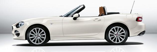 Noul Fiat 124 Spider a fost prezentat la Los Angeles