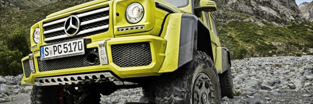 Mercedes G500 4×4² duce off-road-ul la extrem