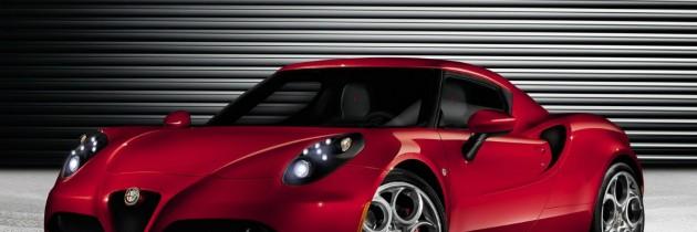 Alfa Romeo 4C va fi prezentata la Salonul Auto de la Geneva