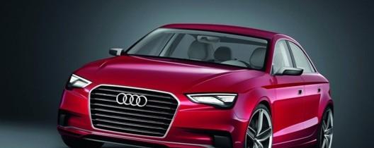 Conceptul Audi A3 sedan a fost lansat la Geneva
