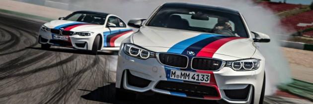 Noul BMW M4 isi arata priceperea in materie de drifturi