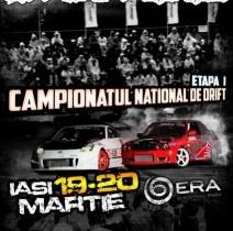 Campionatul National de Drift ajunge la Iasi