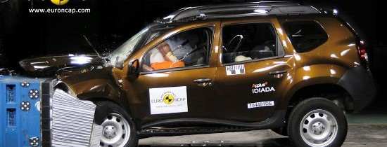 EuroNCAP: Dacia Duster a obtinut trei stele