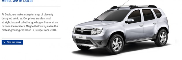 VIDEO: Dacia. Scurt si la obiect.