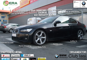 BMW Club Iasi reia intalnile de la Era Park