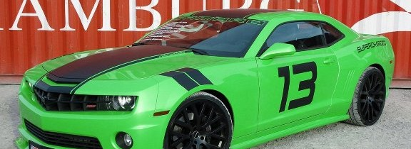 Geiger a modificat Chevrolet Camaro SS