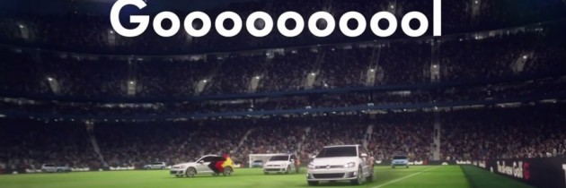 Volkswagen marcheaza, intr-un mod inedit, castigarea CM 2014 de catre Germania