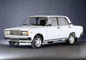"Clasicul model Lada 2107 va fi ""tras pe dreapta"""