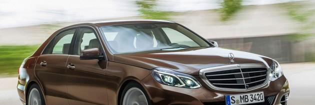 Primele imagini cu Mercedes E-Klasse facelift