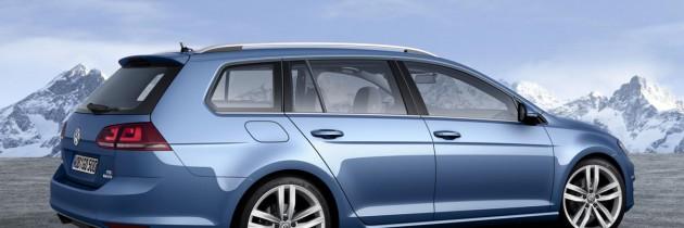Volkswagen Golf 7 Variant va fi prezentat la Geneva