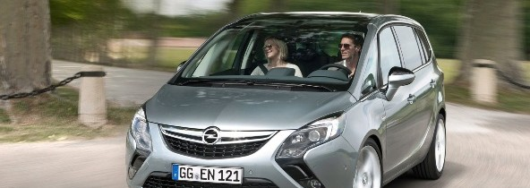 Primele imagini oficiale cu noul Opel Zafira