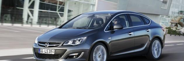 Opel Astra Sedan va fi lansat la Moscova